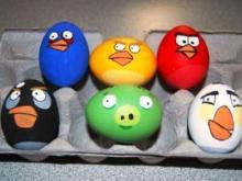 Как сделать пасхальное яйцо / Как красить яйца